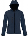 Damski Softshell Sol's Hooded Jacket Replay 46802 French Navy.jpg