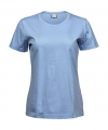Koszulka t-shirt damska Tee Jays Ladies` Sof Tee Light Blue.jpg