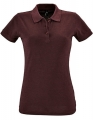 Koszulka polo damska Sols' Women´s Polo Shirt Perfect 11347 Heather Oxblood.jpg