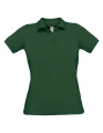 Koszulka polo damska Polo Safran Pure Women PW455 Bottle Green.jpg