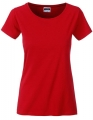 Koszula damska James Nicholson Ladies` Basic-T Red.jpg
