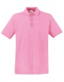 Koszulka polo męska Fruit of the Loom Premium Polo 63-218-0 Light Pink.jpg