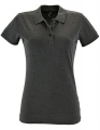 Koszulka polo damska Sols' Women´s Polo Shirt Perfect 11347 Charcoal Melange.jpg