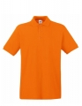 Koszulka polo męska Fruit of the Loom Premium Polo 63-218-0 Orange.jpg