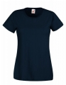 Koszulka t-shirt damska Fruit of The Loom Valueweight T Lady-Fit 61-372-0 Deep Navy.jpg