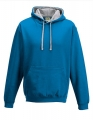 Bluza reklamowa z kapturem Just Hoods Varsity Hoodie JH003 Sapphire Blue Heather Grey.jpg