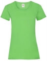 Koszulka t-shirt damska Fruit of The Loom Valueweight T Lady-Fit 61-372-0 Lime.jpg