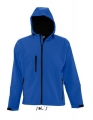 Męski Softshell Sol's Hooded Jacket Replay 46602 Royal Blue.jpg