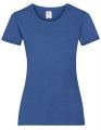 Koszulka t-shirt damska Fruit of The Loom Valueweight T Lady-Fit 61-372-0 Retro Heather2.jpg