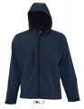 Męski Softshell Sol's Hooded Jacket Replay 46602 French Navy.jpg