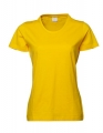 Koszulka Damska Tee Jays Ladies Basic Tee Bright Yellow.jpg
