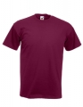 Koszulka t-shirt męska Fruit of The Loom Super Premium 61-044-0 Burgundy.jpg