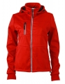 Damski Softshell James Nicholson Maritime Jacket JN1077 Red Navy White.jpg