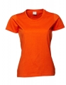 Koszulka Damska Tee Jays Ladies Basic Tee Orange.jpg