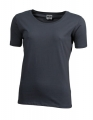 Koszulka t-shirt damska James Nicholson Workwear-T Women Carbon.jpg