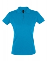 Koszulka polo damska Sols' Women´s Polo Shirt Perfect 11347 Aqua.jpg