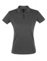 Koszulka polo damska Sols' Women´s Polo Shirt Perfect 11347 Dark Grey (Solid).jpg