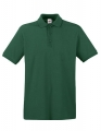 Koszulka polo męska Fruit of the Loom Premium Polo 63-218-0 Bottle Green.jpg