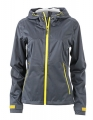 Damska kurtka Softshell James Nicholson Outdoor JN1097 Iron Grey Yellow.jpg