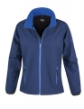Damski Softshell Result Printable Soft Shell Jacket R231F Navy RoyalB.jpg