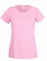 Koszulka t-shirt damska Fruit of The Loom Valueweight T Lady-Fit 61-372-0 Light Pink.jpg
