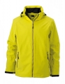 Kurtka zimowa męska James Nicholson Wintersport Softshell JN 1054 Yellow.jpg