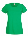Koszulka t-shirt damska Fruit of The Loom Valueweight T Lady-Fit 61-372-0 Kelly Green.jpg