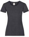 Koszulka t-shirt damska Fruit of The Loom Valueweight T Lady-Fit 61-372-0 Dark Grey Heather.jpg
