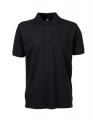 Koszulka polo męska Tee Jays Luxury Stretch Polo 1405 Black.jpg