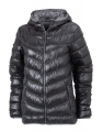 Kurtka puchowa damska James Nicholson Men's Down Jacket JN 1059 Black Grey.jpg