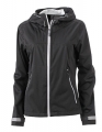 Damska kurtka Softshell James Nicholson Outdoor JN1097 Black Silver Solid.jpg