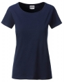 Koszula damska James Nicholson Ladies` Basic-T Navy.jpg
