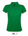 Koszulka polo damska Sol's Women´s Polo Shirt Prime 00573 Kelly Green.jpg
