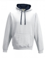 Bluza reklamowa z kapturem Just Hoods Varsity Hoodie JH003 Artic White French Navy.jpg