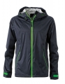 Męski Softshell James Nicholson Outdoor Jacket JN1098 Iron Grey Green.jpg