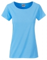 Koszula damska James Nicholson Ladies` Basic-T Sky Blue.jpg