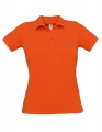 Koszulka polo damska Polo Safran Pure Women PW455 Pumpkin Orange.jpg