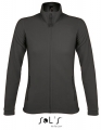Polar damski Sol's Micro Fleece Zipped Jacket Nova Women 00587 Charcoal Grey Solid.jpg