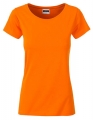 Koszula damska James Nicholson Ladies` Basic-T Orange.jpg
