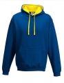 Bluza reklamowa z kapturem Just Hoods Varsity Hoodie JH003 Royal Blue Sun Yellow.jpg