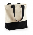 Torba reklamowa Westcove Canvas Natural Black.jpg