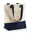 Torba reklamowa Westcove Canvas Natural French Navy.jpg