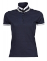Koszulka polo damska Ladies Club Polo 1403 Dark Grey Solid White Light Grey Navy White Light Grey.jpg