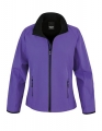 Damski Softshell Result Printable Soft Shell Jacket R231F Purple Black.jpg