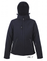 Kurtka softshell ocieplana Sol's Rock Women French Navy.jpg