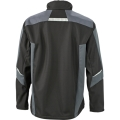 Kurtka robocza softshell James Nicholson Workwear Black Carbon2.png