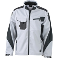 Kurtka robocza softshell James Nicholson Workwear White Carbon.png