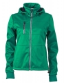 Damski Softshell James Nicholson Maritime Jacket JN1077 Irish Gree Navy White.jpg