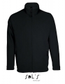 Polar męski Sol's Micro Fleece Zipped Jacket Nova Men 00586 Black.jpg