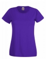 Koszulka t-shirt damska Fruit of The Loom Valueweight T Lady-Fit 61-372-0 Purple.jpg
